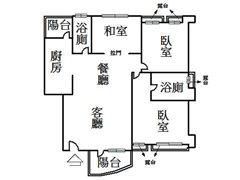 陽明苑景觀三房 台北市北投區珠海路