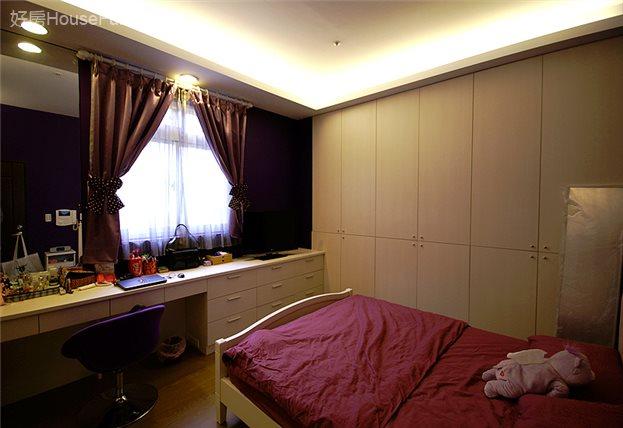 夢幻色系空姐的家,臥室