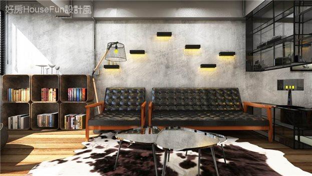 夯時尚 . 輕工業風正流行,客廳