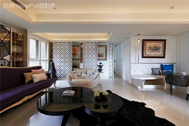 空間的獨白,客廳