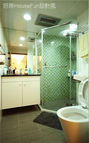 賦予30年老屋一個新生命,衛浴