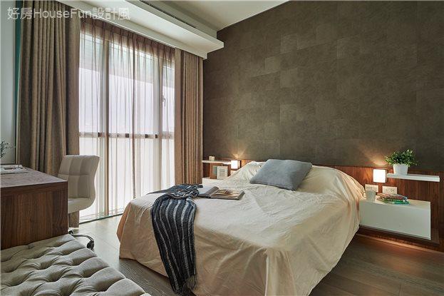 現代飯店風新店潘宅,臥室
