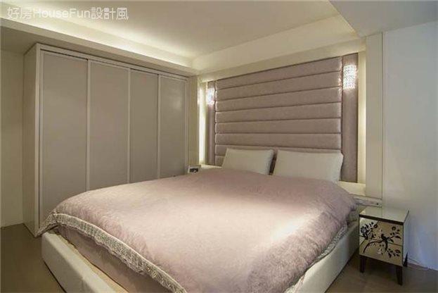 自然元素與現代感的融合,臥室