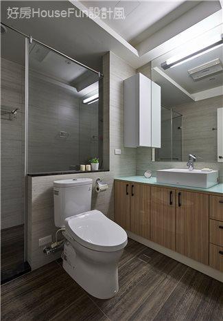 現代飯店風新店潘宅,衛浴